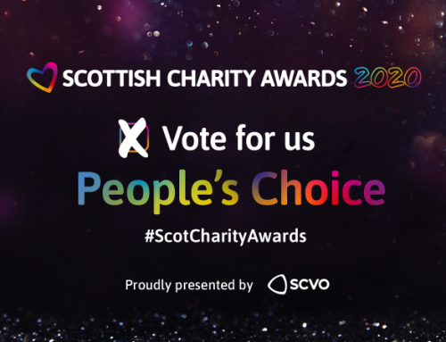 Space shortlisted for Scottish Charity Award 2020